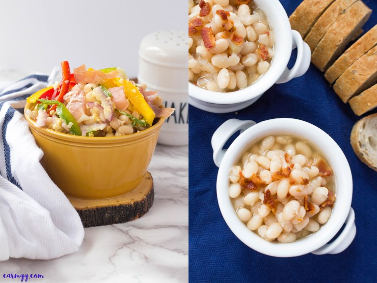 Tuscan Bean Salad and Tuscan Bean Soup by Carmy