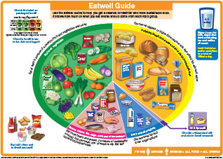Thumbnail of the UK's new Eatwell Guide