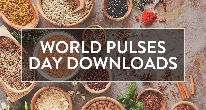 World Pulses Day Downloads