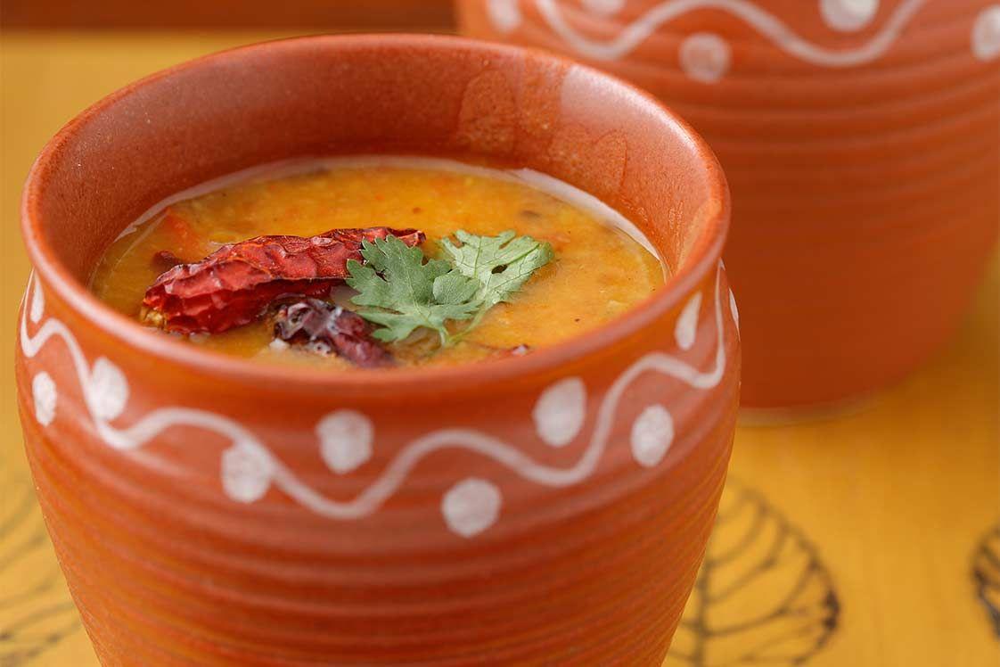 Dal Soup (Tempered Lentil Soup)
