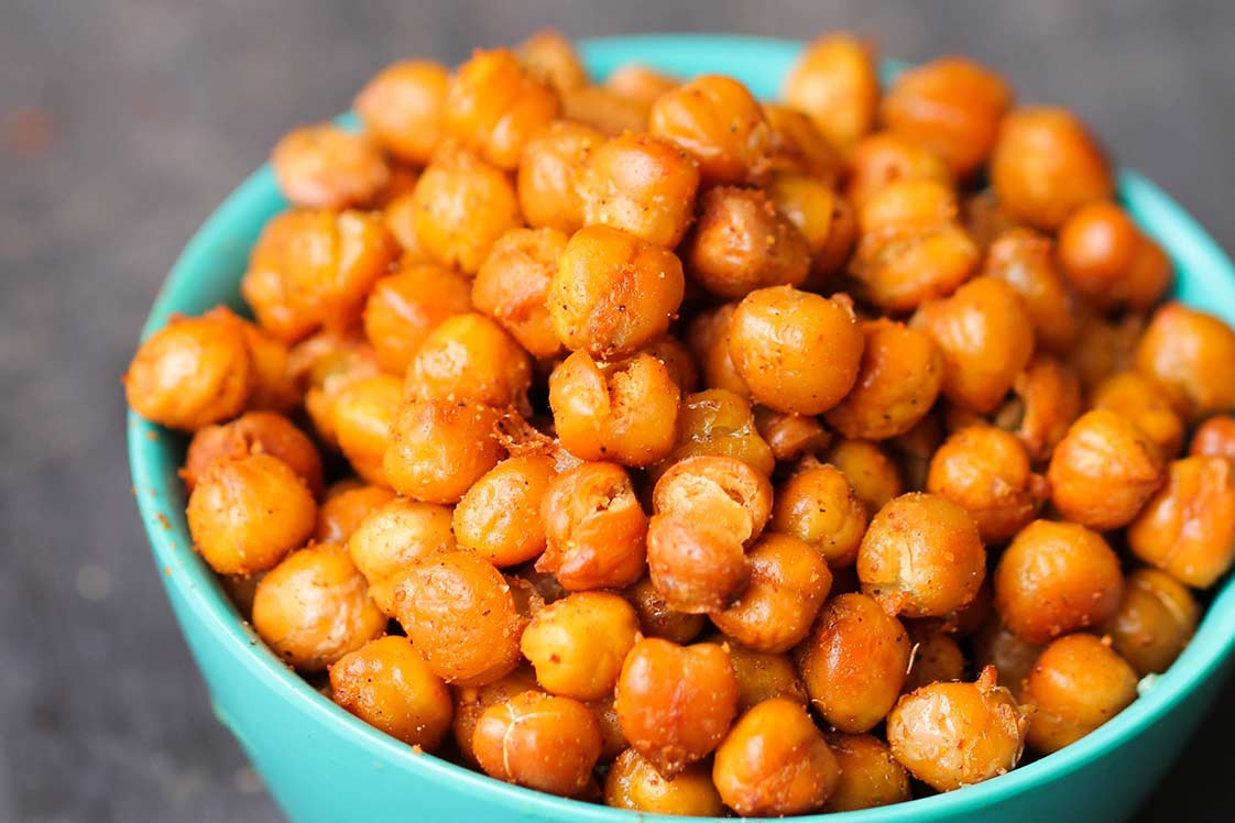 Tandoori Roasted Chickpeas