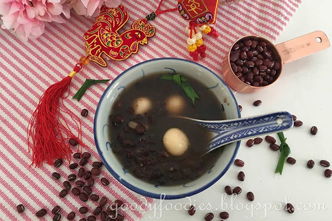 Red Bean Soup with Tang Yuan
