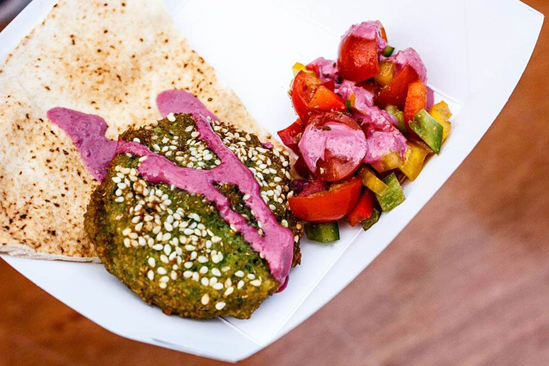 Broad Bean Falafel
