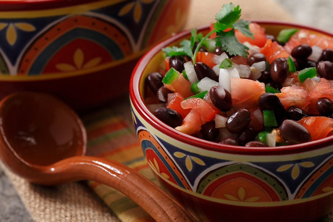Black Bean Pico de Gallo Salsa