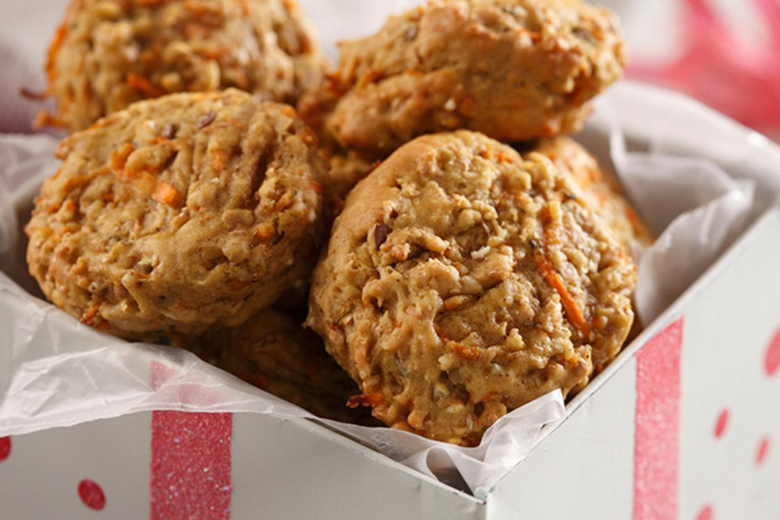 Spiced Carrot Soft Cookies
