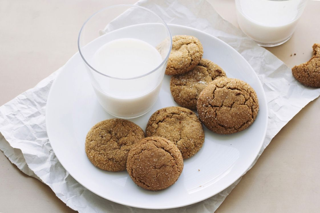 Chickpea Gingersnaps