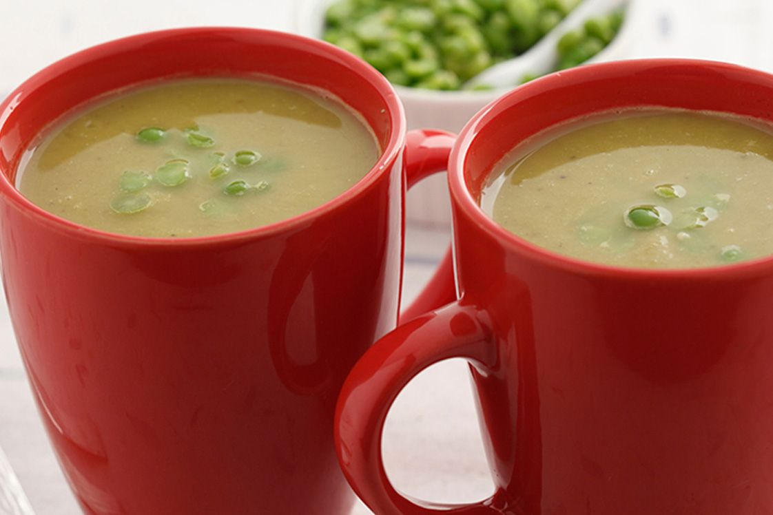 Easy Curried Split Pea Soup