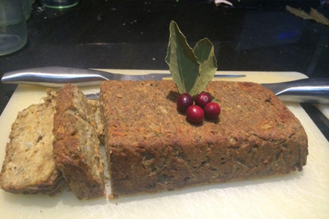 Festive Seed and Lentil Roast