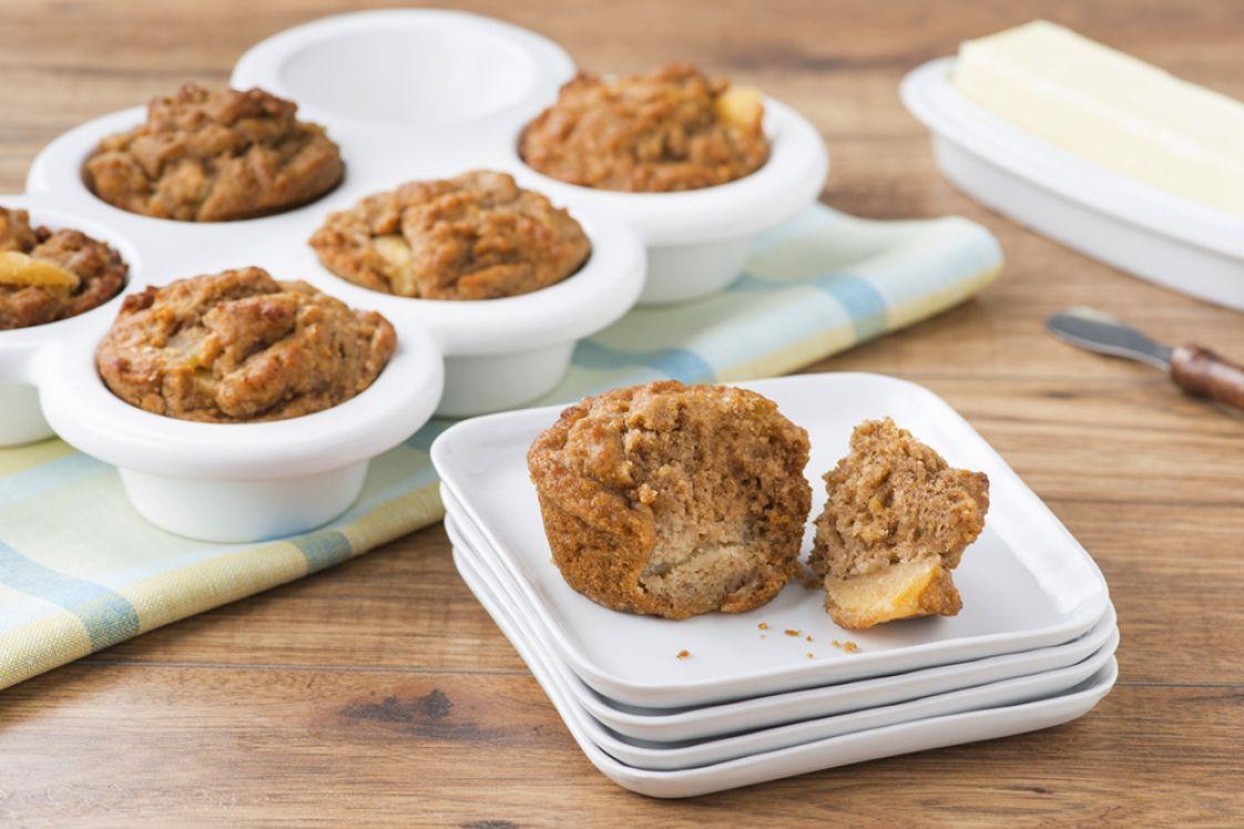 Lentil Apple Muffins