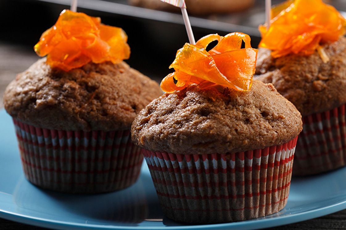 Lentil Carrot Spice Muffins