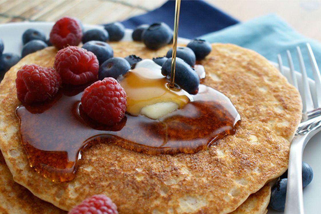 Red Lentil Breakfast Pancakes