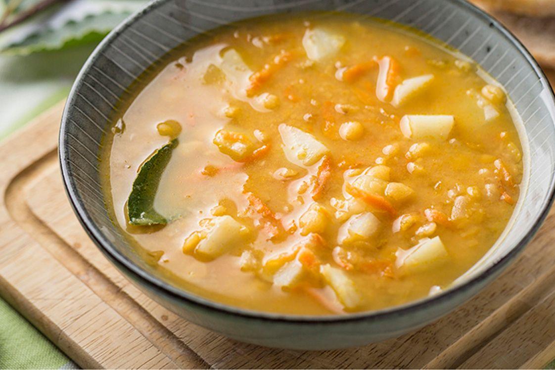 Ukrainian Split Pea Soup