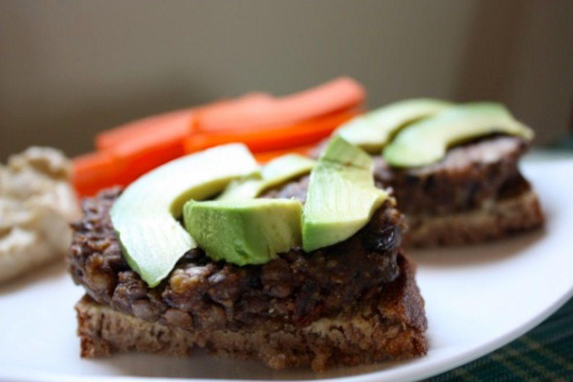 Vegetarian Mushroom Lentil Burgers