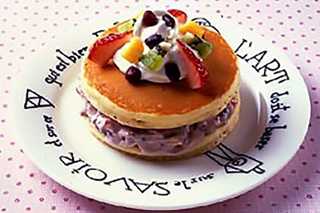 An Pancake (Pancake with Azuki Paste)