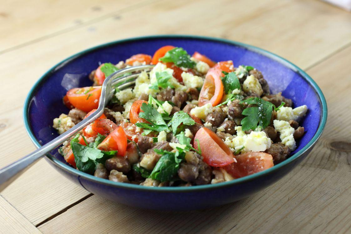 Bressingham Warm Bean Salad