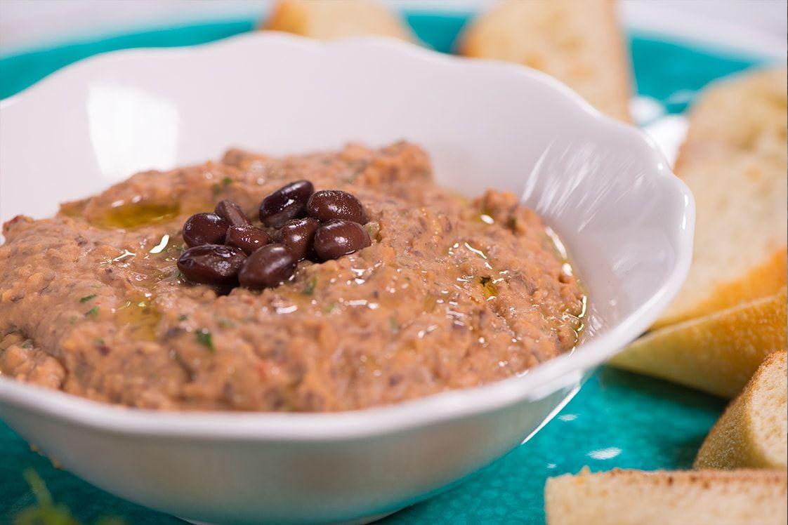 Black Bean and Chipotle Dip