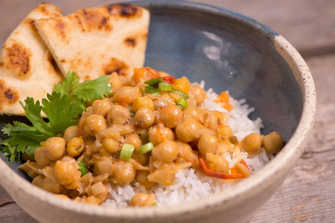 Vikram's Everyday Chana Masala