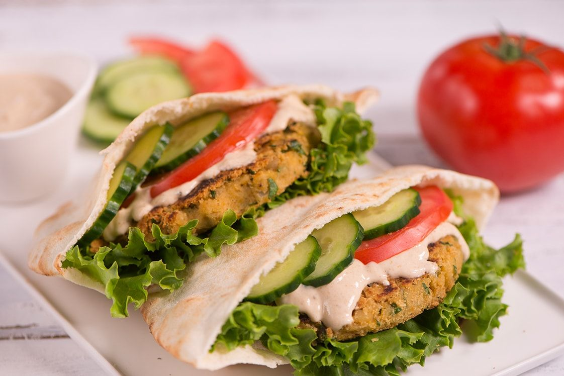 Falafelly Good Chickpea Burgers