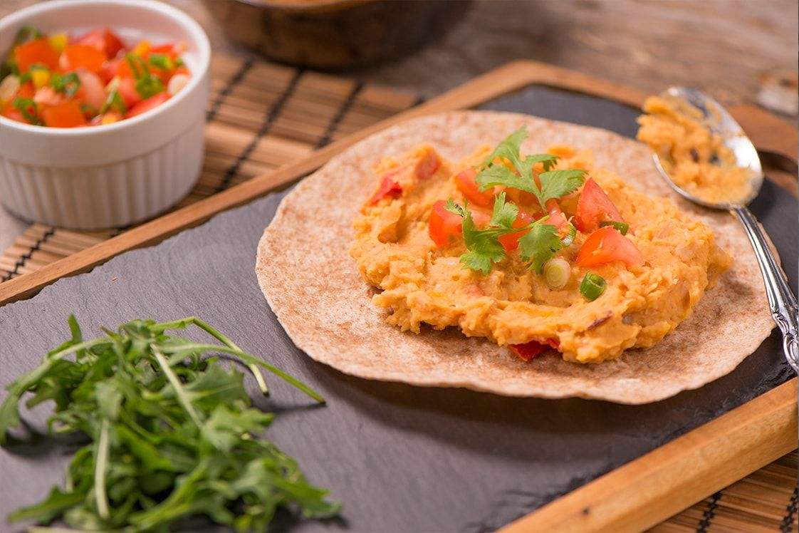 Malawi Style Refried Beans