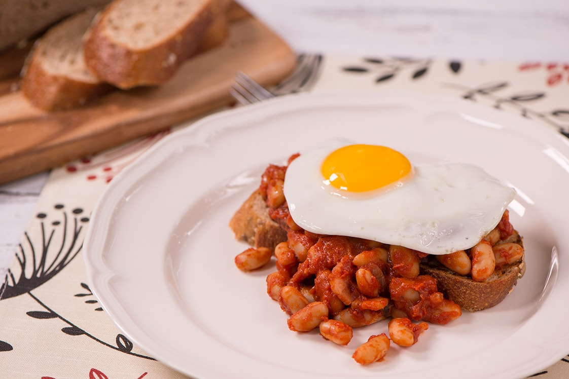 Full English Breakfast (Baked Beans on Toast) - Mains Recipe