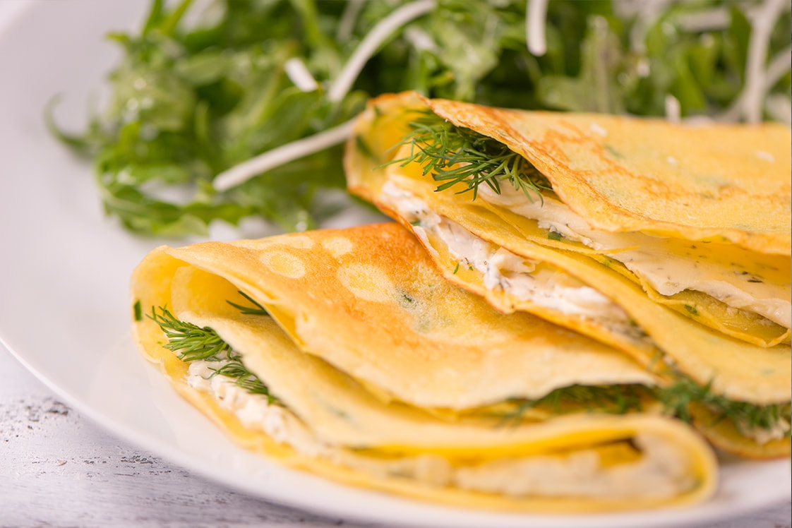 Gluten Free Savoury Crepes Appetizers Snacks Sides Mains Recipe