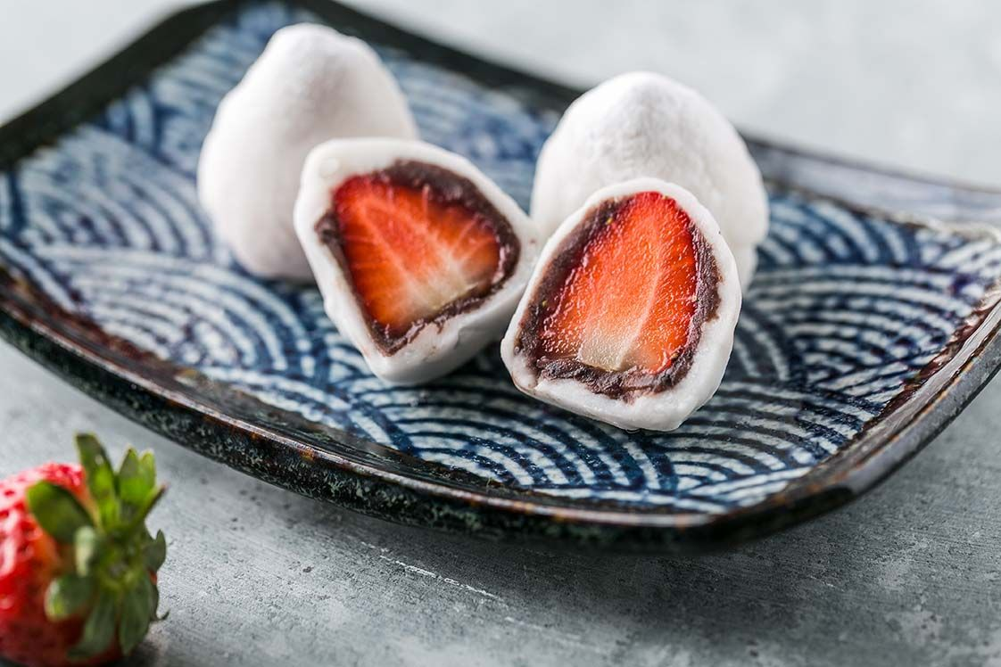 ICHIGO DAIFUKU (with Anko paste)
