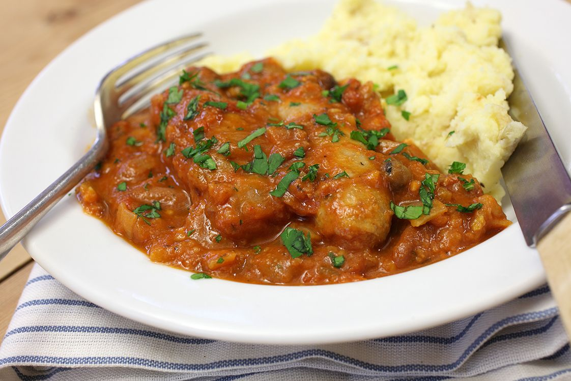 Fava Bean and Sausage Casserole