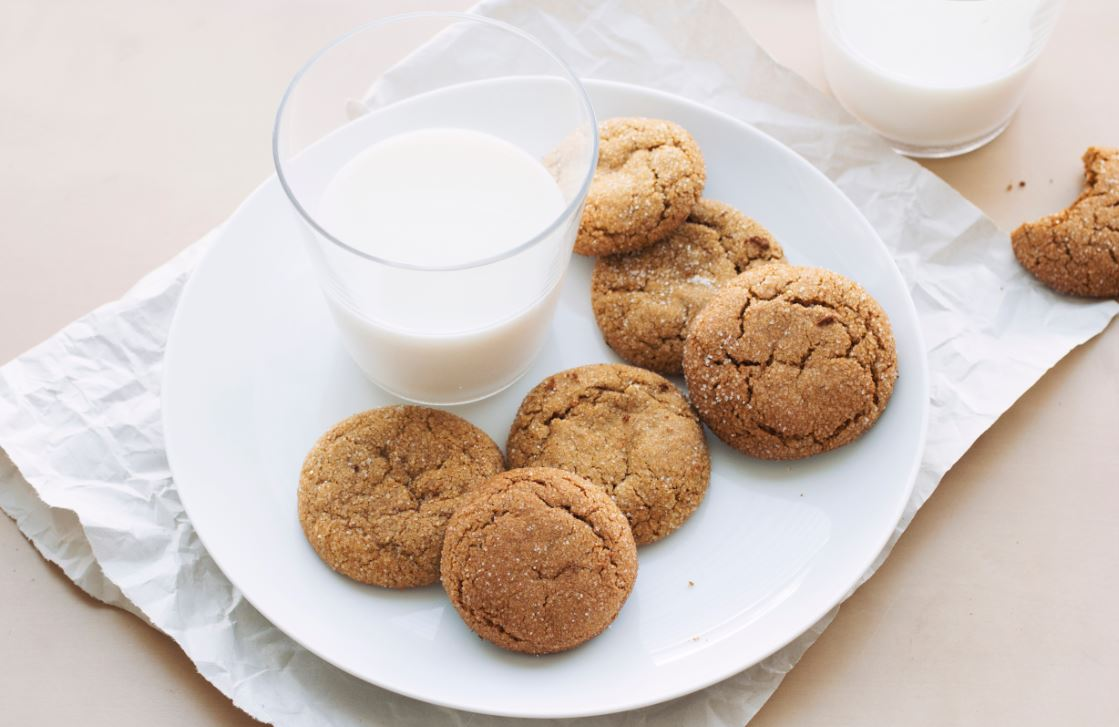 Chickpea ginger snaps
