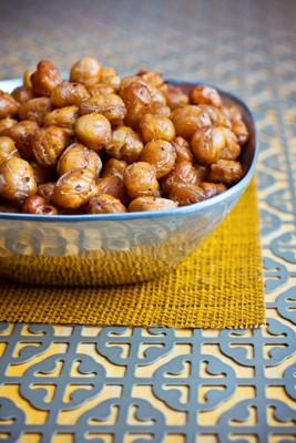 Za'atar Spiced Crispy Chickpeas