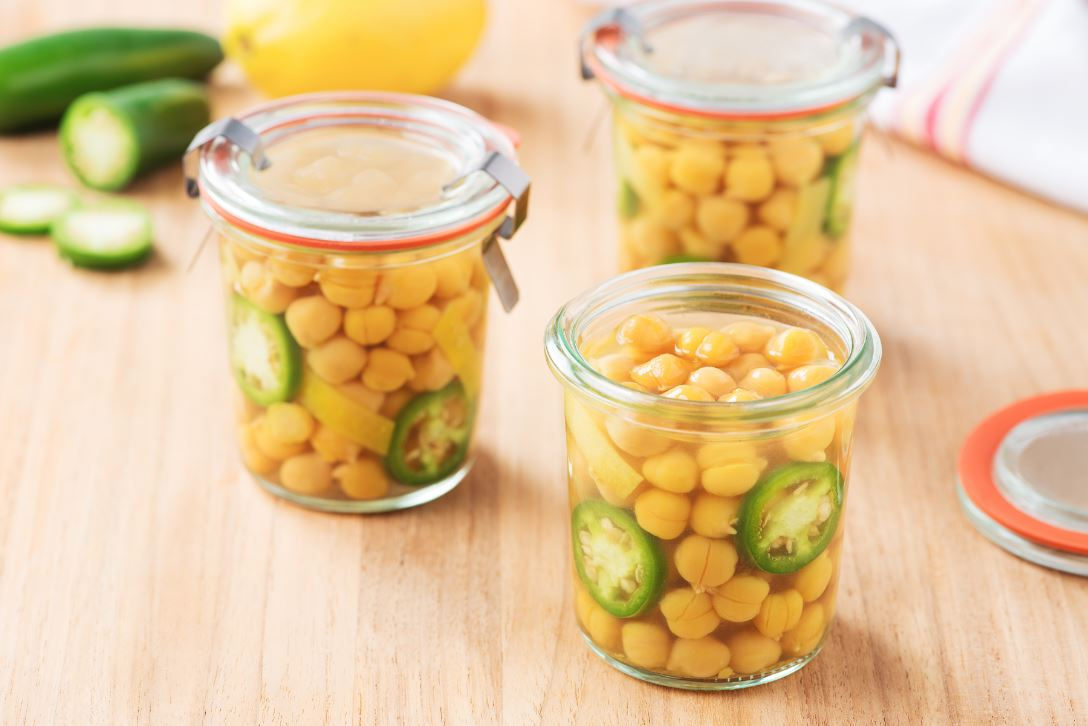 Pickled Chickpeas