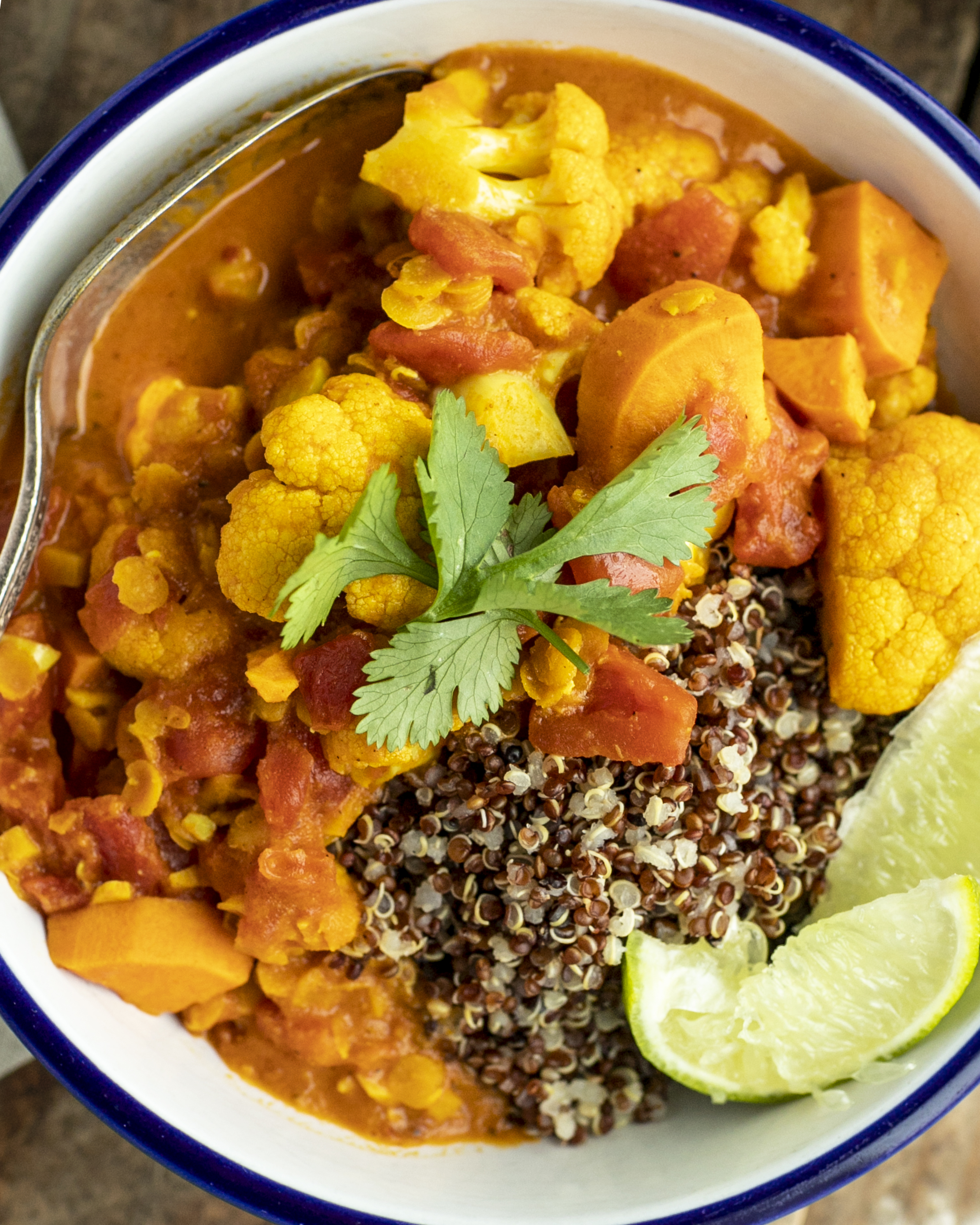 Cauliflower Red Lentil Curry Half Cup Habit